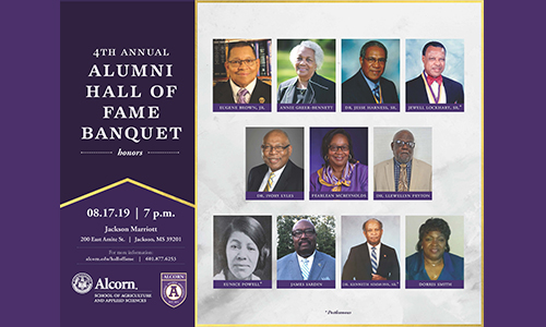 Notable alumni to be honored at School of Agriculture and Applied Sciences' annual Alumni Hall of Fame Banquet