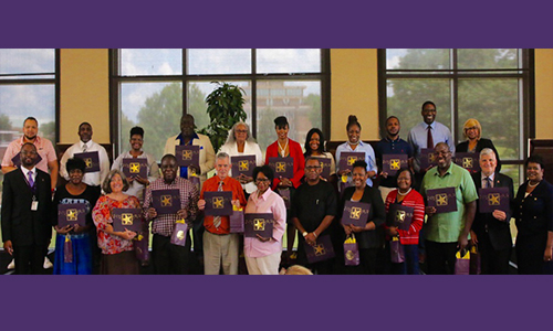 Hooper shares value of mentoring as campus advisors honored during Advising All-Stars Luncheon